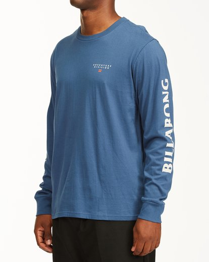 1 A/Div Lines Long Sleeve T-Shirt Blue ABYZT00546 Billabong