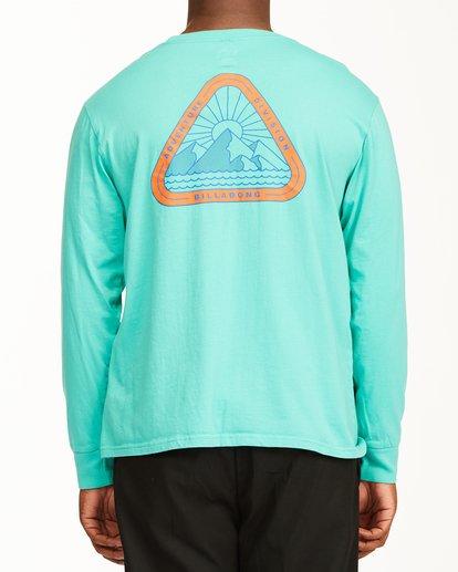 3 A/Div Sawtooth Long Sleeve T-Shirt Multicolor ABYZT00547 Billabong