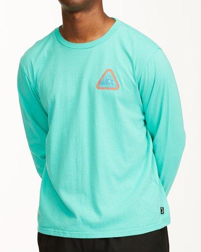 6 A/Div Sawtooth Long Sleeve T-Shirt Multicolor ABYZT00547 Billabong