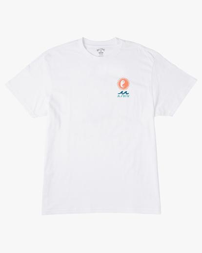 5 A/Div Wonders Short Sleeve T-Shirt White ABYZT00563 Billabong