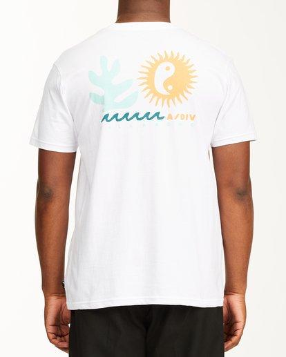 2 A/Div Wonders Short Sleeve T-Shirt White ABYZT00563 Billabong