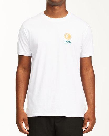 0 A/Div Wonders Short Sleeve T-Shirt White ABYZT00563 Billabong