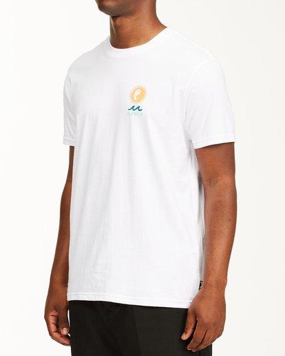 1 A/Div Wonders Short Sleeve T-Shirt White ABYZT00563 Billabong