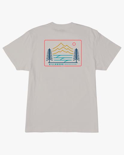 4 Hwy 101 Short Sleeve T-Shirt Red ABYZT00569 Billabong