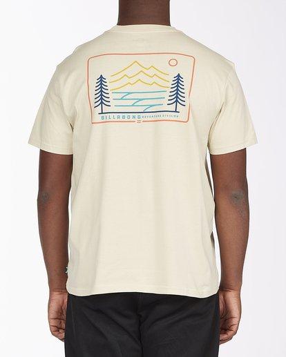 2 A/Div Hwy 101 Short Sleeve T-Shirt Red ABYZT00569 Billabong