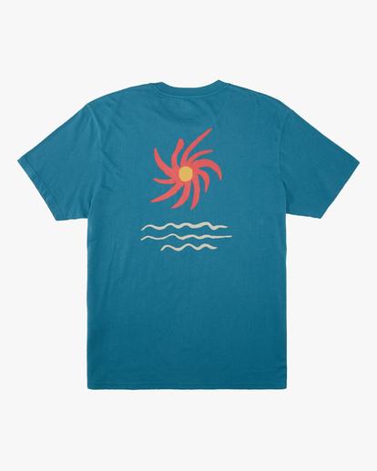7 Wrangler Day Light Short Sleeve T-Shirt Green ABYZT00572 Billabong