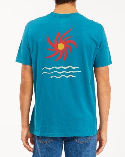 4 Wrangler Day Light Short Sleeve T-Shirt Green ABYZT00572 Billabong