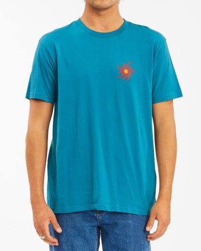 2 Wrangler Day Light Short Sleeve T-Shirt Green ABYZT00572 Billabong