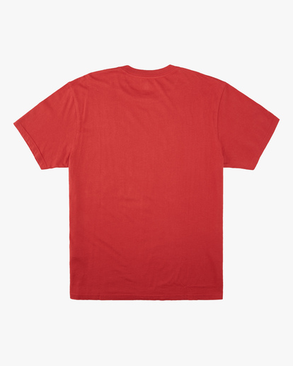 6 Wrangler Lands Short Sleeve T-Shirt Red ABYZT00573 Billabong