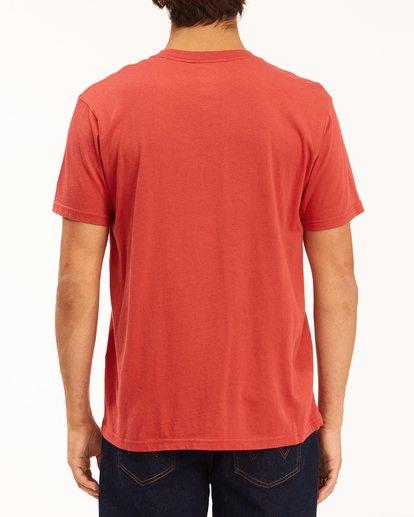 3 Wrangler Lands Short Sleeve T-Shirt Red ABYZT00573 Billabong