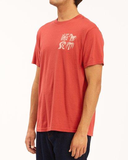 2 Wrangler Lands Short Sleeve T-Shirt Red ABYZT00573 Billabong