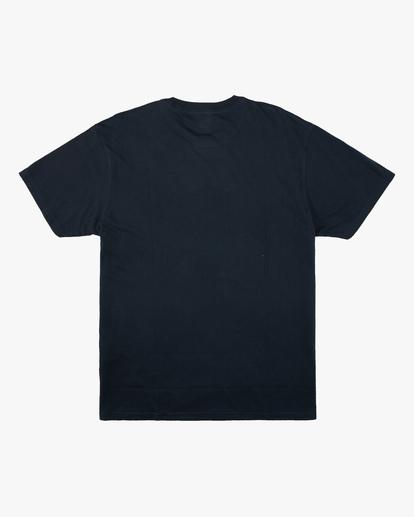 5 Wrangler Mirage Short Sleeve T-Shirt Blue ABYZT00574 Billabong