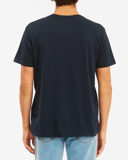 3 Wrangler Mirage Short Sleeve T-Shirt Blue ABYZT00574 Billabong