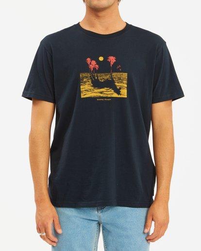 1 Wrangler Mirage Short Sleeve T-Shirt Blue ABYZT00574 Billabong