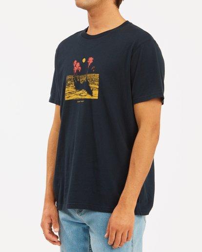 2 Wrangler Mirage Short Sleeve T-Shirt Blue ABYZT00574 Billabong