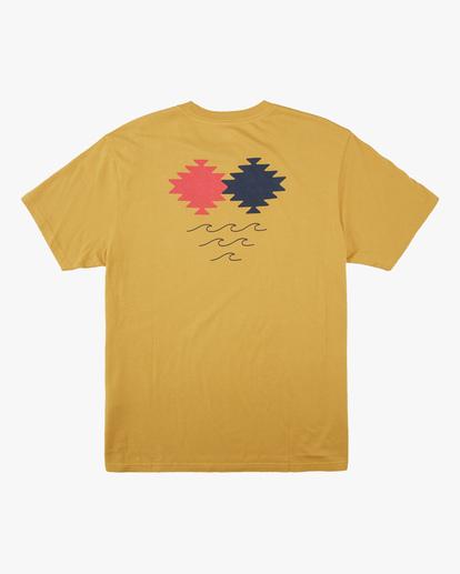 5 Wrangler Eclipse Short Sleeve T-Shirt Beige ABYZT00576 Billabong