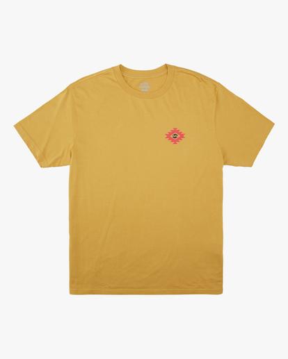 4 Wrangler Eclipse Short Sleeve T-Shirt Beige ABYZT00576 Billabong