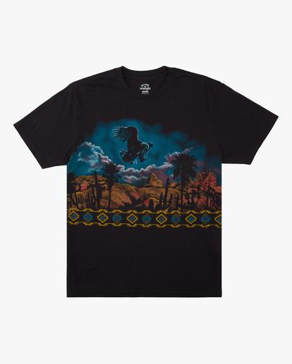 5 Wrangler Night Trip Short Sleeve T-Shirt Black ABYZT00577 Billabong