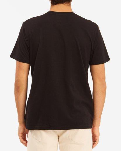 3 Wrangler Night Trip Short Sleeve T-Shirt Black ABYZT00577 Billabong