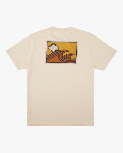 6 Wrangler Sandwave Short Sleeve T-Shirt White ABYZT00578 Billabong
