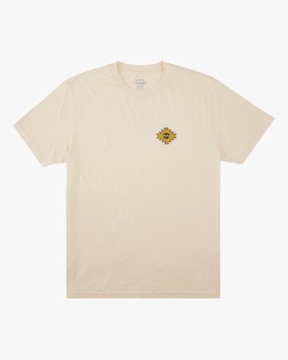5 Wrangler Sandwave Short Sleeve T-Shirt White ABYZT00578 Billabong