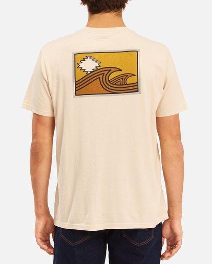 3 Wrangler Sandwave Short Sleeve T-Shirt White ABYZT00578 Billabong