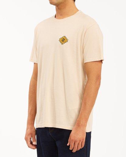 2 Wrangler Sandwave Short Sleeve T-Shirt White ABYZT00578 Billabong