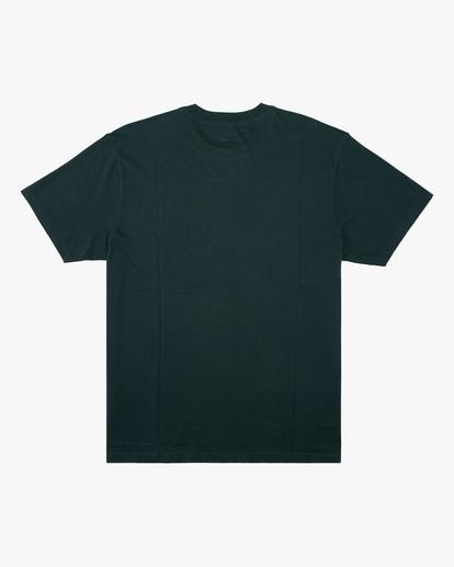 6 Wrangler Sleepwalker Short Sleeve T-Shirt Green ABYZT00579 Billabong
