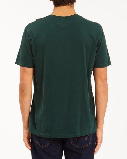 3 Wrangler Sleepwalker Short Sleeve T-Shirt Green ABYZT00579 Billabong