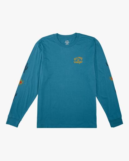 5 Wrangler Sunlight Long Sleeve T-Shirt Green ABYZT00581 Billabong