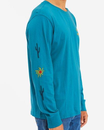 3 Wrangler Sunlight Long Sleeve T-Shirt Green ABYZT00581 Billabong