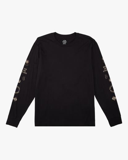 6 Wrangler Dreamer Long Sleeve T-Shirt Black ABYZT00582 Billabong