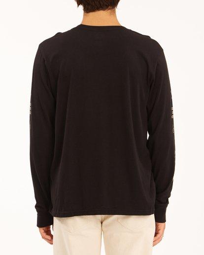 3 Wrangler Dreamer Long Sleeve T-Shirt Black ABYZT00582 Billabong