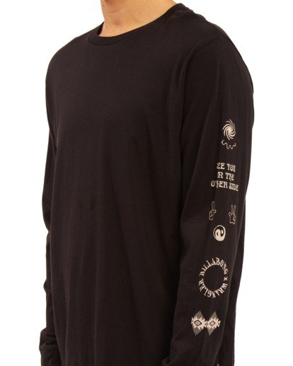 5 Wrangler Dreamer Long Sleeve T-Shirt Black ABYZT00582 Billabong