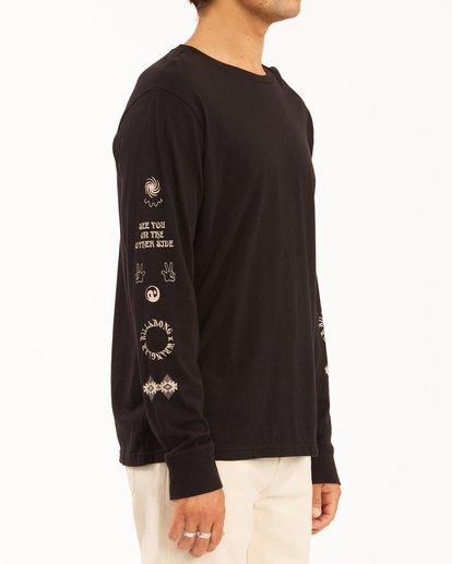 2 Wrangler Dreamer Long Sleeve T-Shirt Black ABYZT00582 Billabong