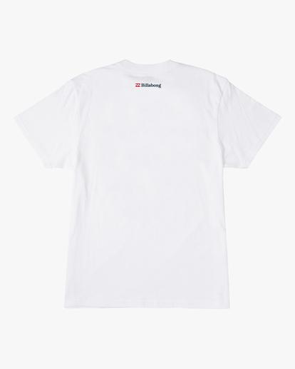 7 Budweiser Crusher Short Sleeve T-Shirt White ABYZT00587 Billabong