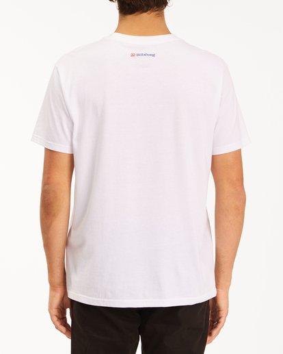 3 Budweiser Crusher Short Sleeve T-Shirt White ABYZT00587 Billabong