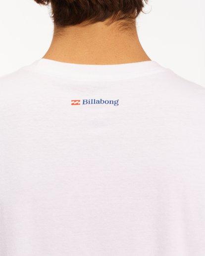 5 Budweiser Crusher Short Sleeve T-Shirt White ABYZT00587 Billabong