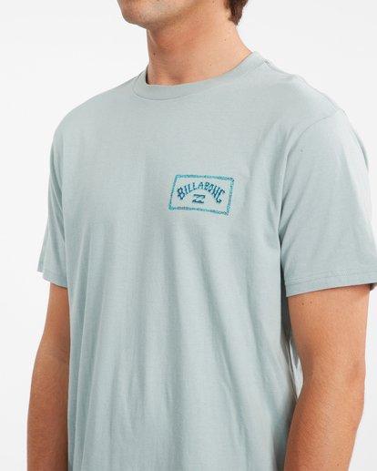 3 A/Div Arch Short Sleeve T-Shirt Green ABYZT00592 Billabong