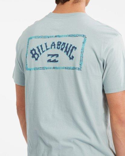 4 A/Div Arch Short Sleeve T-Shirt Green ABYZT00592 Billabong