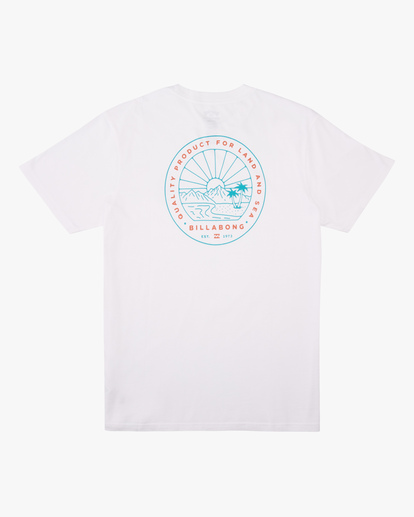 5 A/Div Scenery Short Sleeve T-Shirt White ABYZT00594 Billabong