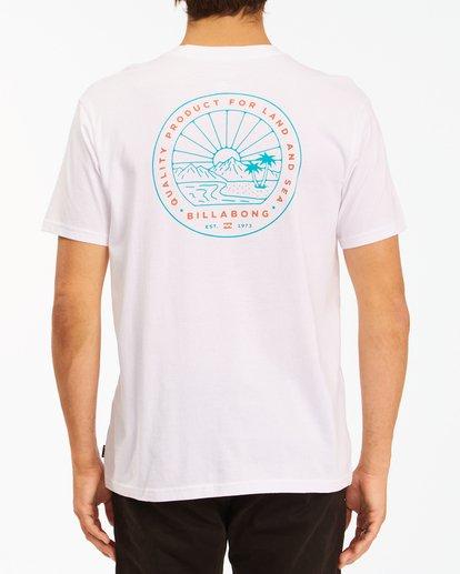 2 A/Div Scenery Short Sleeve T-Shirt White ABYZT00594 Billabong