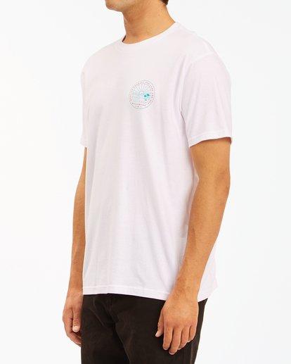 1 A/Div Scenery Short Sleeve T-Shirt White ABYZT00594 Billabong