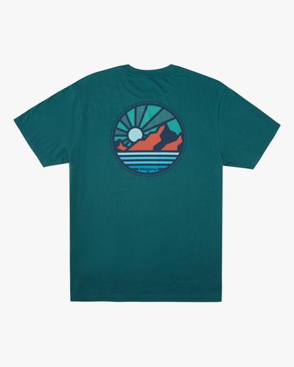 5 A/Div Rockies Short Sleeve T-Shirt Orange ABYZT00595 Billabong