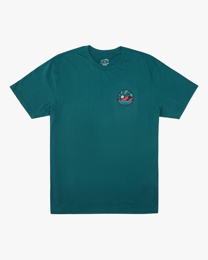 4 A/Div Rockies Short Sleeve T-Shirt Orange ABYZT00595 Billabong