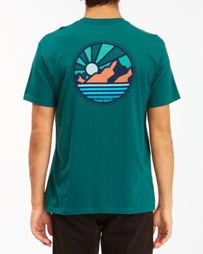 2 A/Div Rockies Short Sleeve T-Shirt Orange ABYZT00595 Billabong