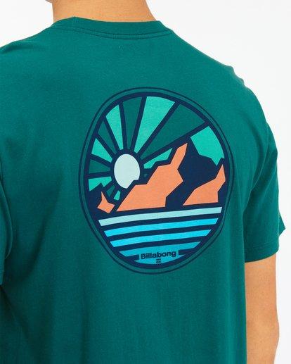 3 A/Div Rockies Short Sleeve T-Shirt Orange ABYZT00595 Billabong