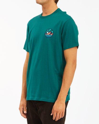 1 A/Div Rockies Short Sleeve T-Shirt Orange ABYZT00595 Billabong