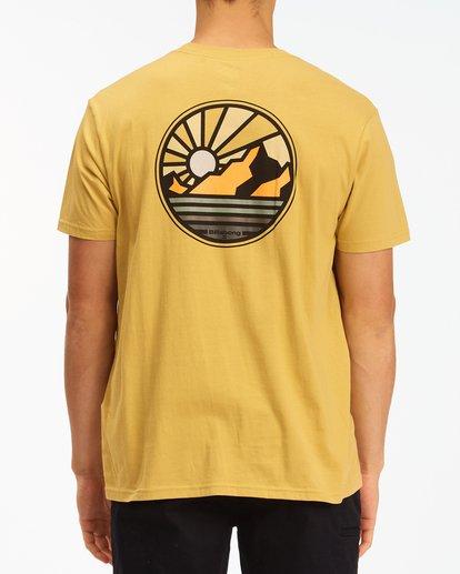2 A/Div Rockies Short Sleeve T-Shirt Beige ABYZT00595 Billabong