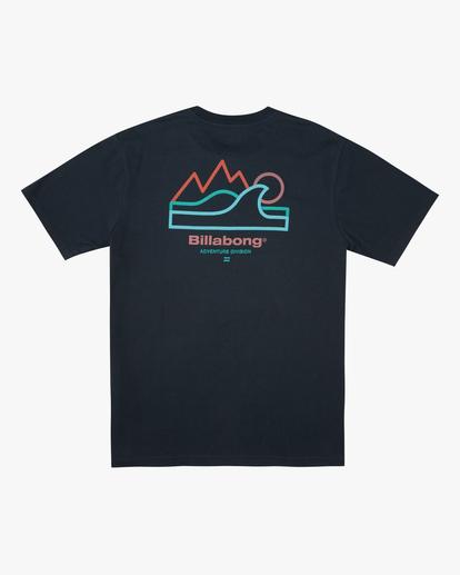 5 A/Div Peak Wave Short Sleeve T-Shirt Blue ABYZT00596 Billabong